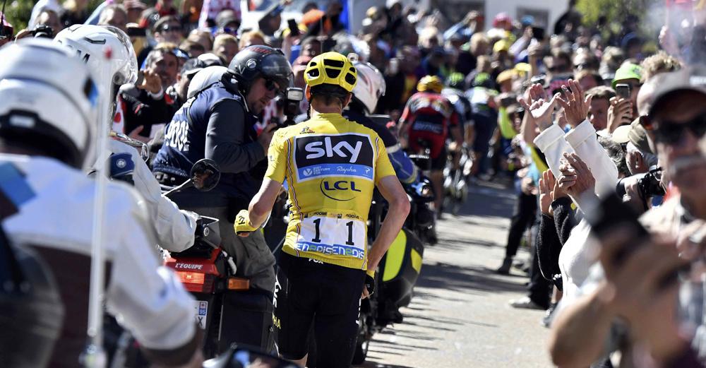 El caos se apodera del Tour de Francia