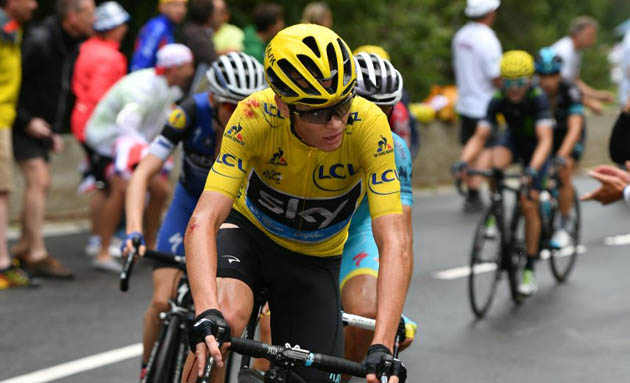 """Froome: """"El Tour de Francia no termina hasta cruzar la meta de París"""""""