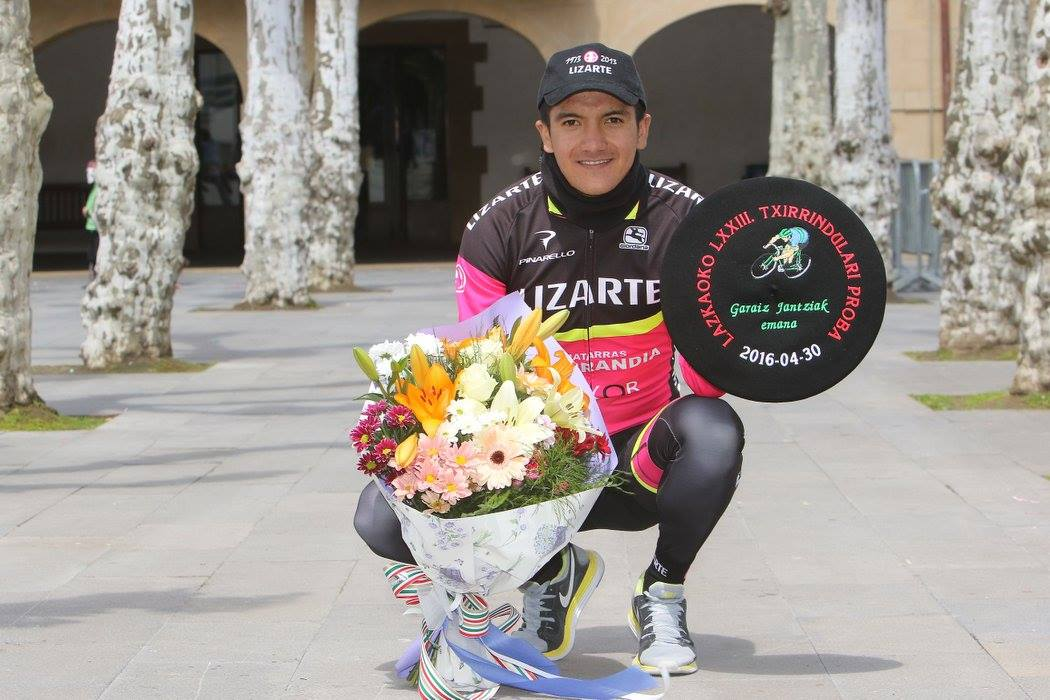 Richard Carapaz correrá a prueba con Movistar Team