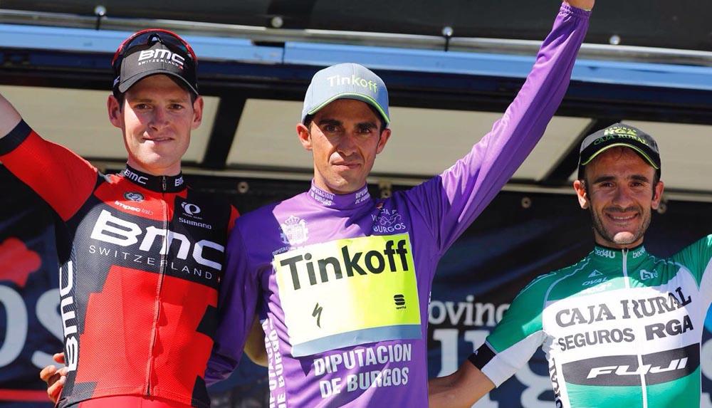 Gloria para Pardilla y el morado para Contador