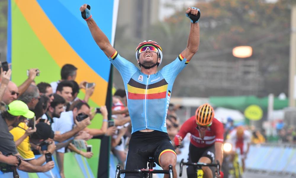 Drama olímpico; Oro de Van Avermaet que Nibali y Henao perdieron por caída