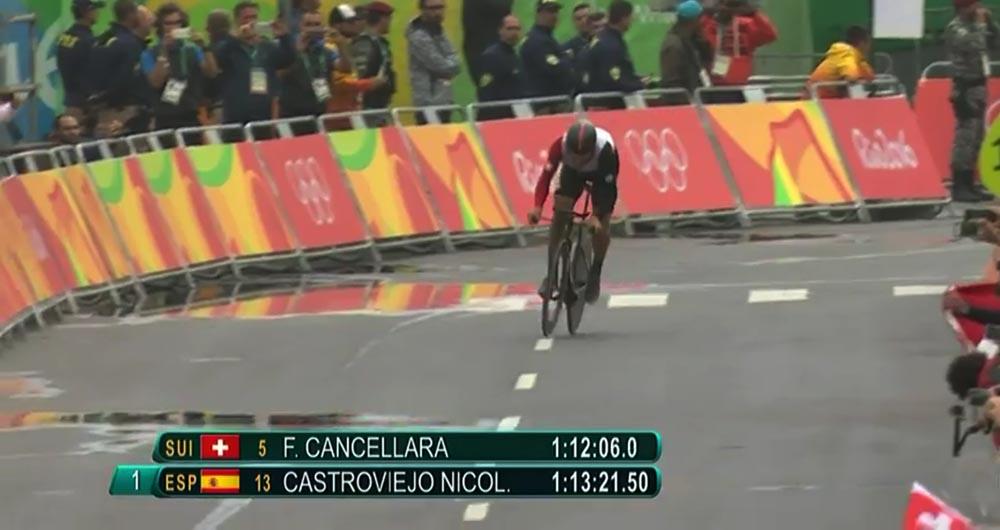 Cancellara intratable contra el crono, oro olímpico