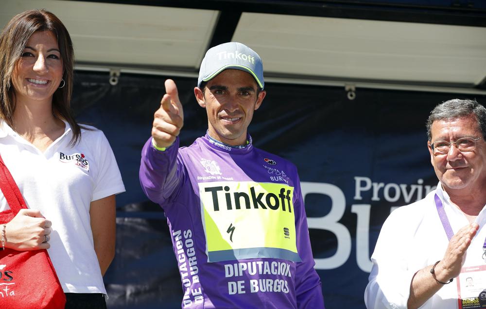 """Contador: """"Mi objetivo es luchar por la victoria en la Vuelta"""""""