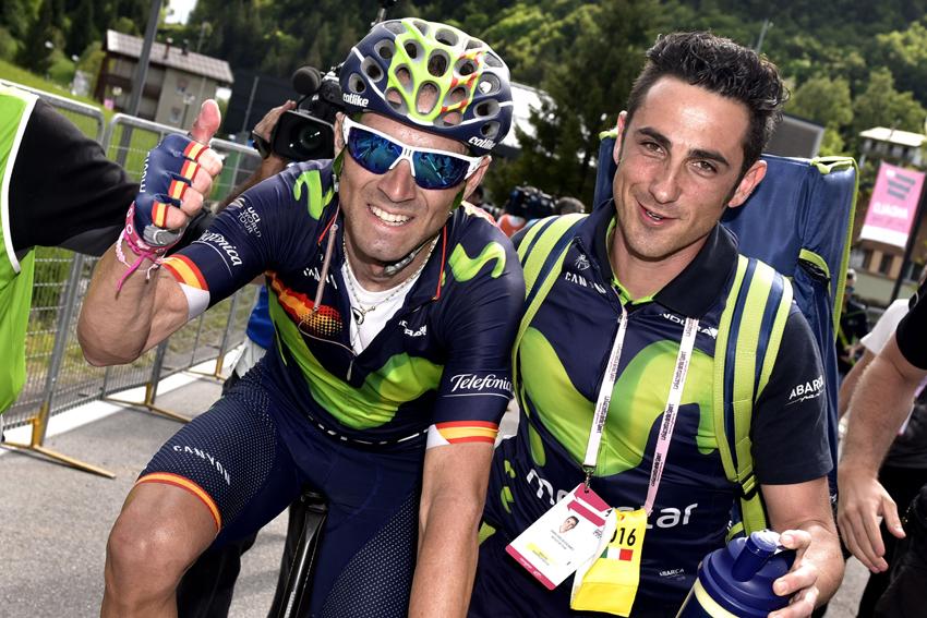 Valverde, dorsal número 1 de La Vuelta 2016