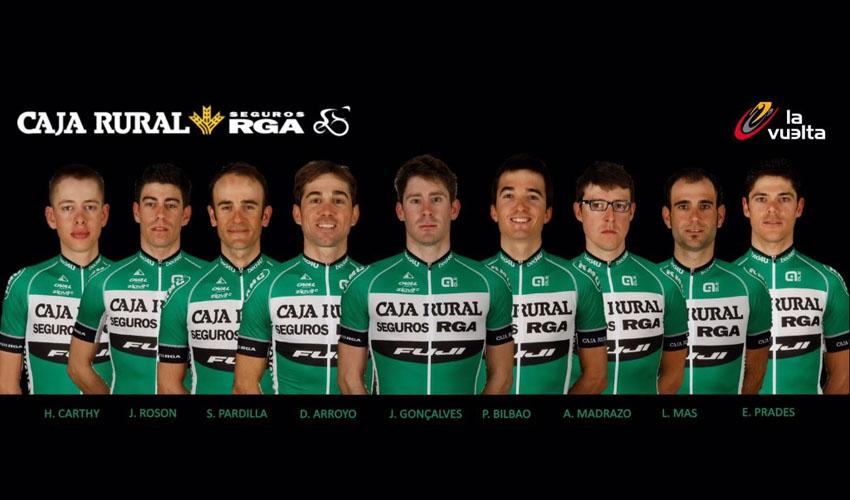 El nueve del Caja Rural-Seguros RGA para la Vuelta a España
