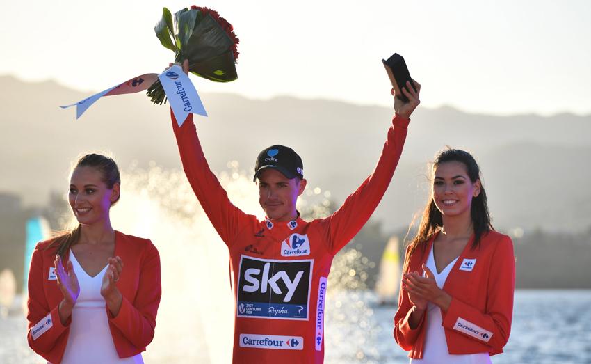 """Peter Kennaugh, primer líder de la Vuelta: """"Estoy en el cielo"""""""