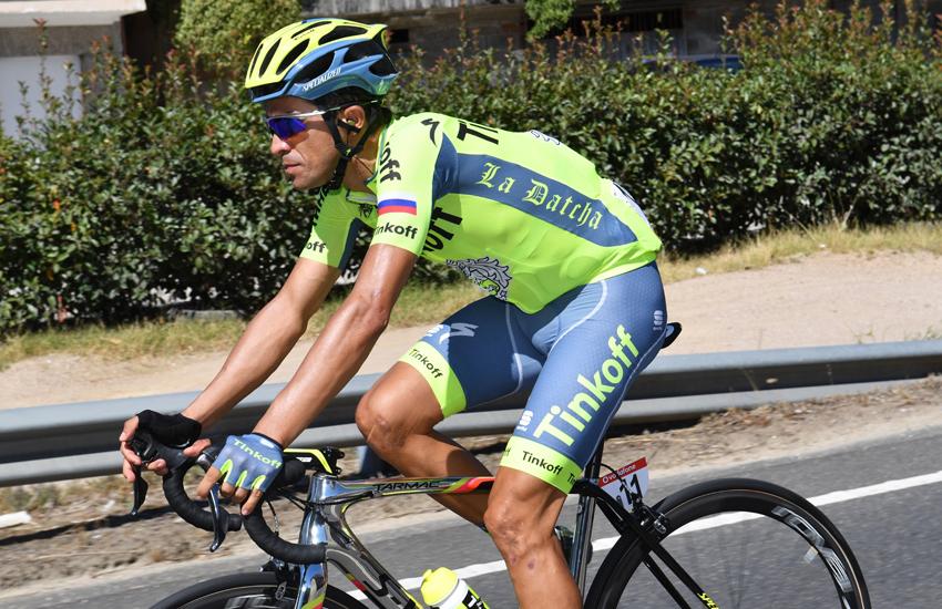 """Alberto Contador: """"Mañana es el primer test importante"""""""