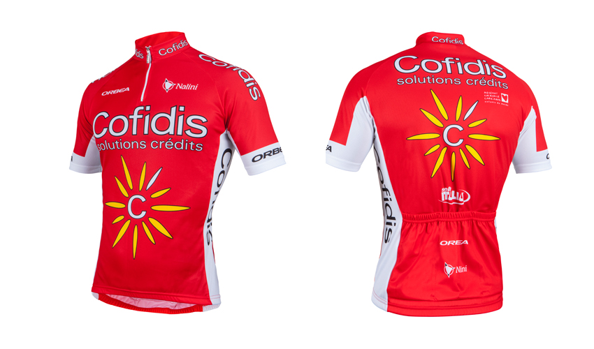 Sorteamos cinco maillots del Cofidis