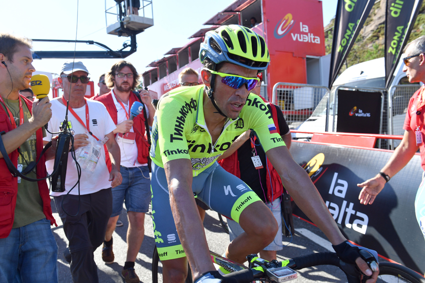 """Alberto Contador: """"He querido ser cauto"""""""