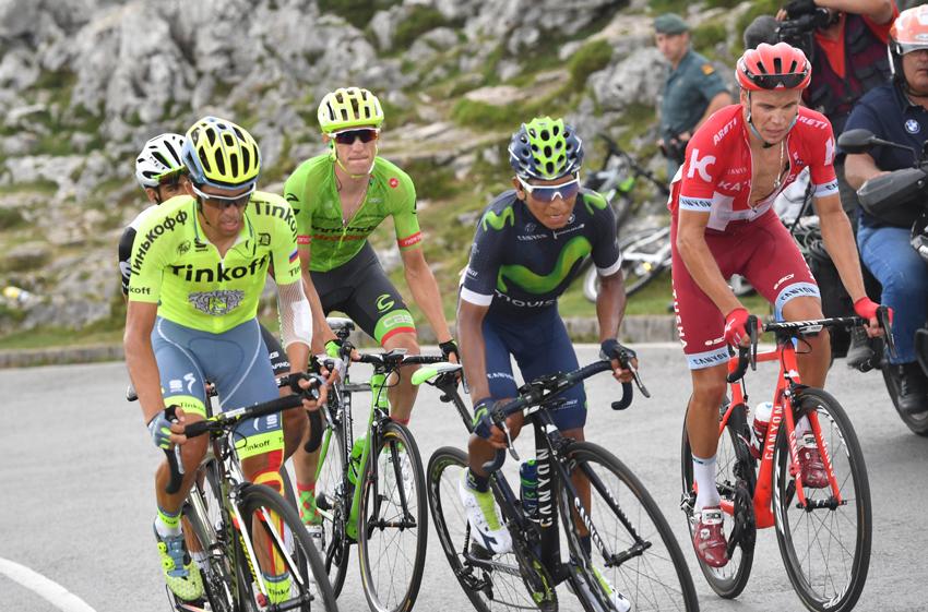 """Contador: """"Las diferencias son enormes, se nos pone cuesta arriba la Vuelta"""""""