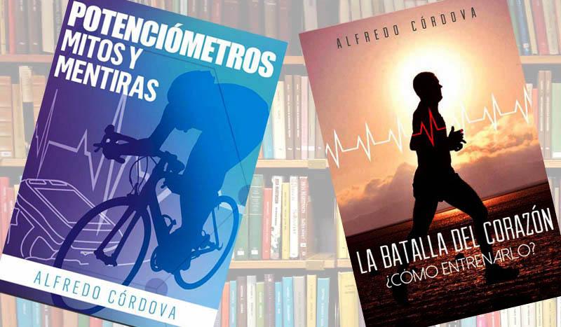 Libros: Potenciómetros, Mitos y Mentiras y La Batalla del Corazón: ¿cómo entrenarlo?