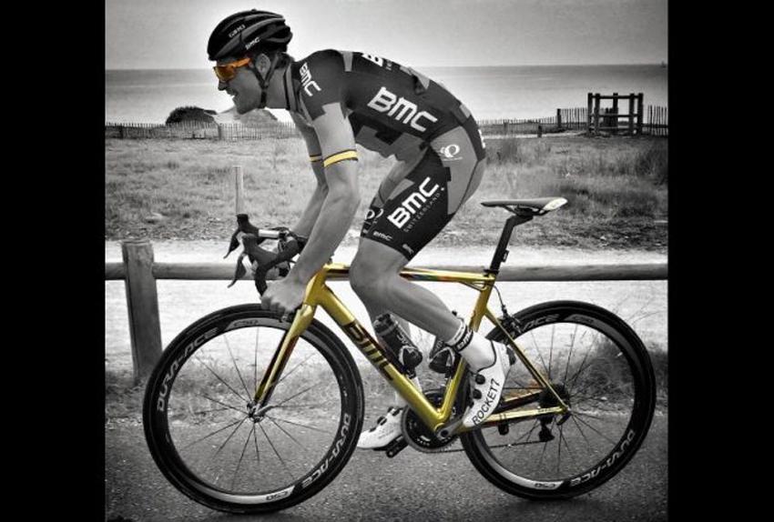 La nueva BMC Team Machine de Van Avermaet