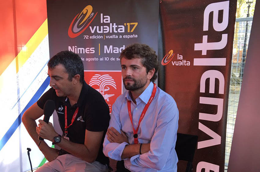 La Vuelta a España oficializa que saldrá de Nimes en 2017