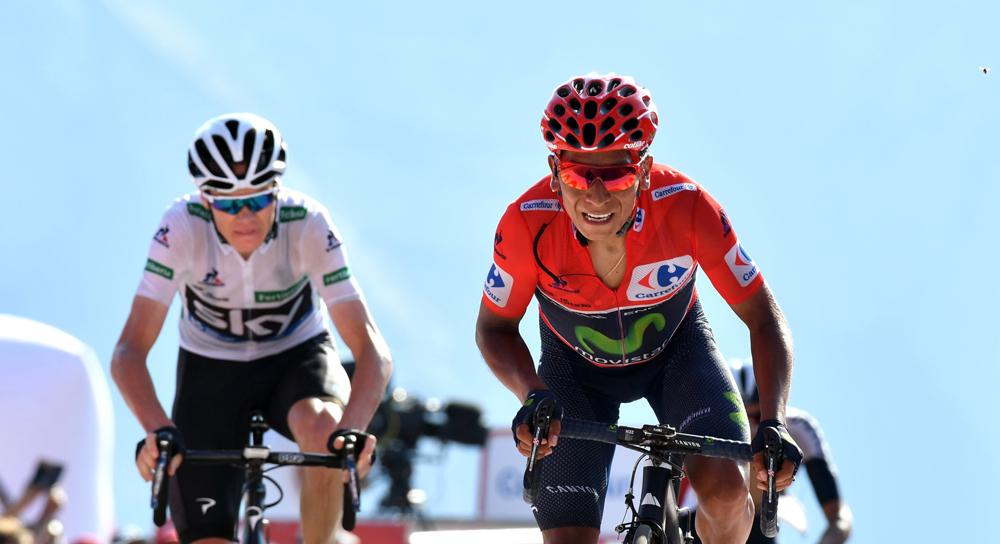 Quintana no logra zafarse de Froome