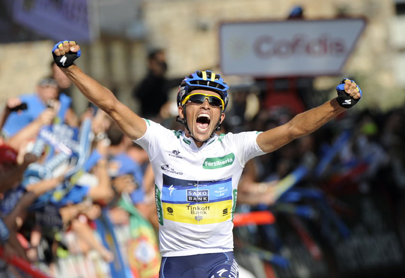 Vídeo: cuatro años de la histórica exhibición de Contador en Fuente Dé