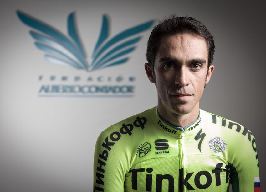 Entrénate con Alberto Contador