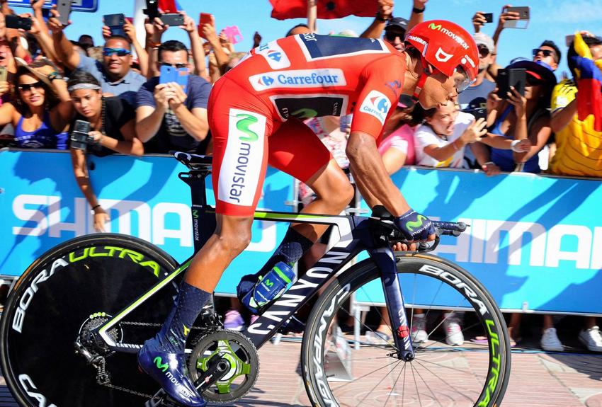 """Quintana: """"He hecho una buena crono, pero Froome ha volado"""""""