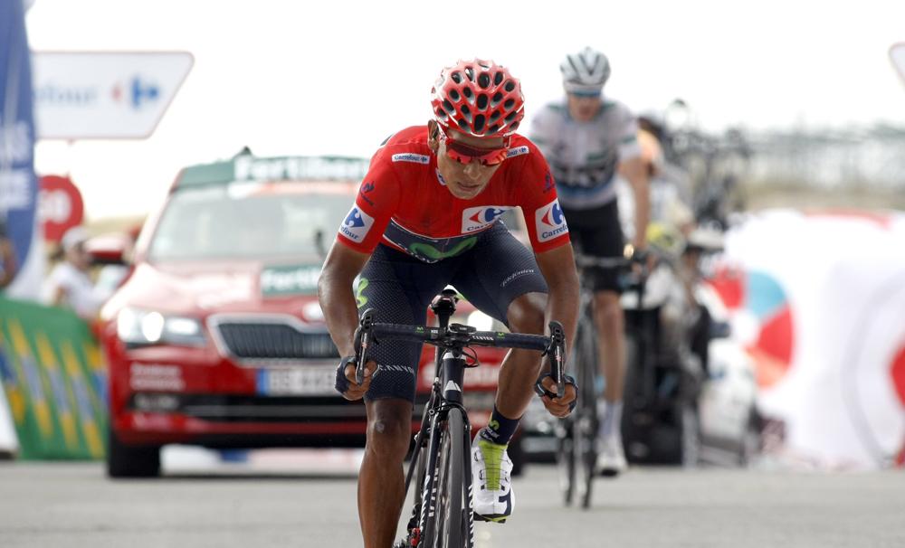 La Vuelta es de Quintana