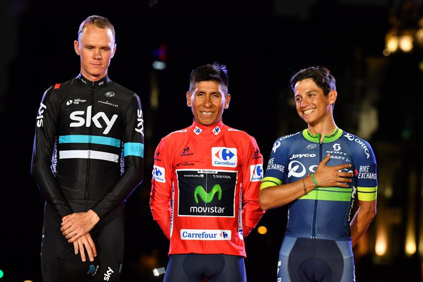 """Chaves, podio en el Giro y la Vuelta: """"Es un paso adelante increíble"""""""