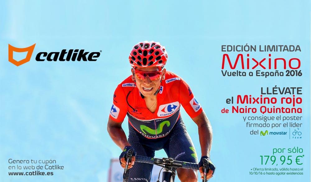 Catlike edición limitada del casco de la Vuelta a España