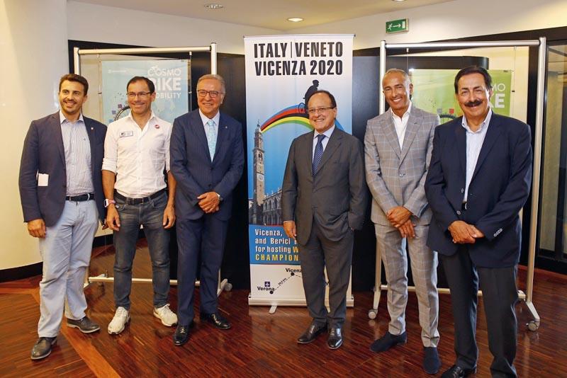 Candidatura de Vicenza  para los Campeonatos del Mundo Veneto 2020