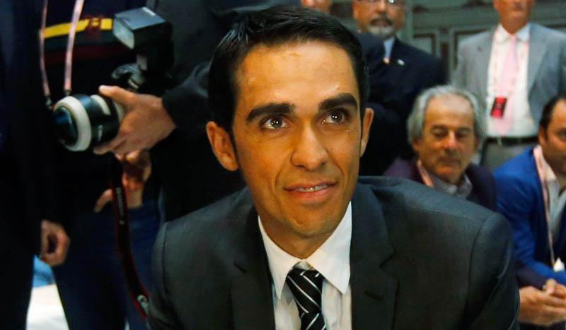 Alberto Contador firma con el equipo Trek-Segafredo