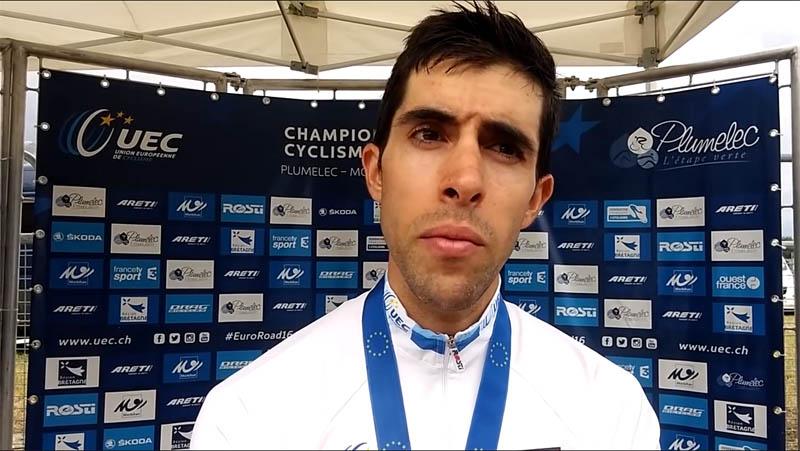 Castroviejo, campeón de Europa contrarreloj en Plumelec