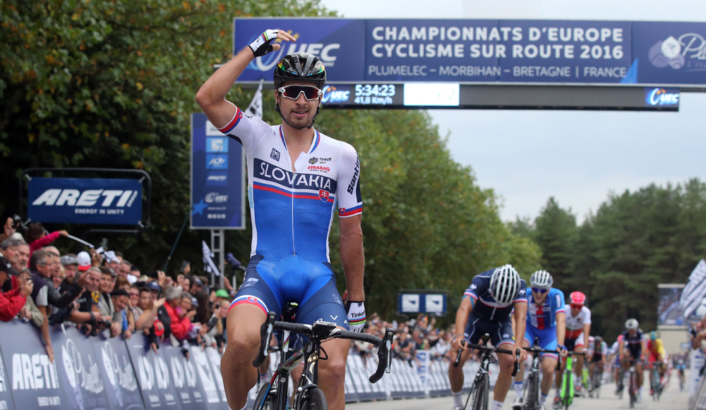 Sagan también es campeón de Europa