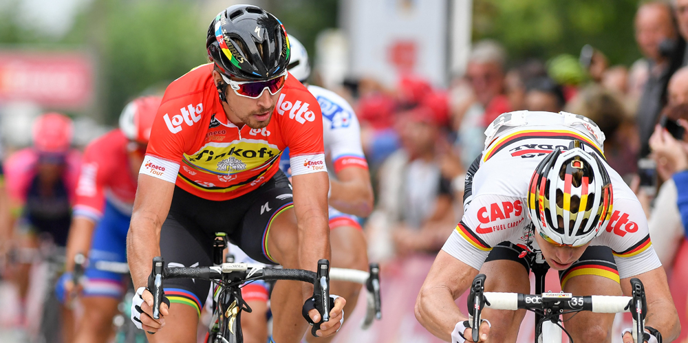Sagan repite triunfo y se viste de líder
