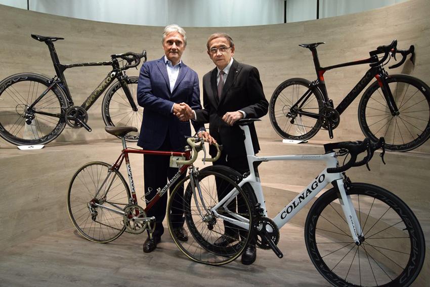 Colnago regresa al World Tour de la mano de TJ Sport