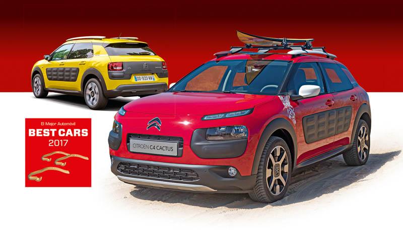 Participa en Best Cars 2017, sorteamos 2 Citroën C4 Cactus.