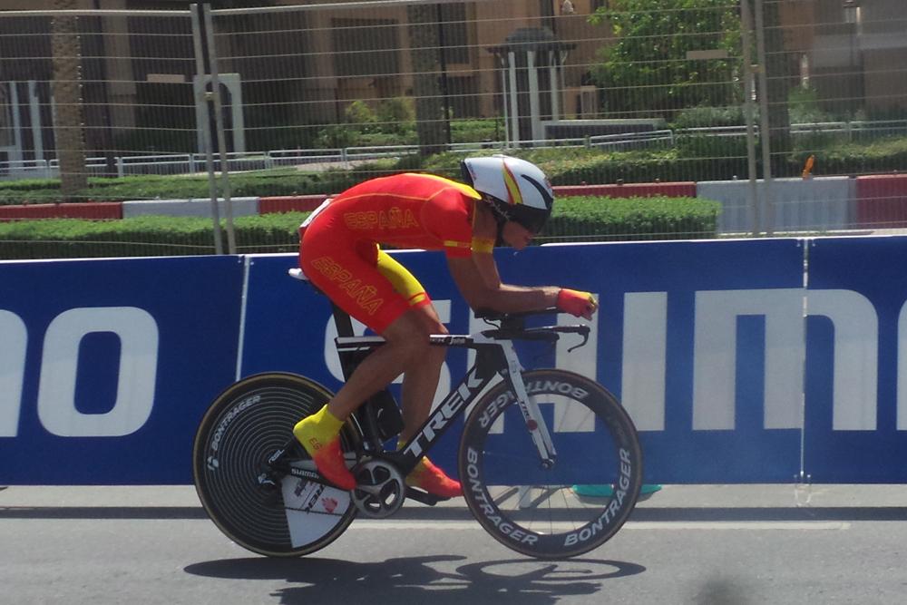Notable crono de Elosegui, 15º entre los junior
