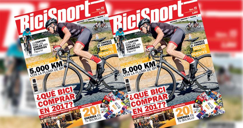 Bicisport 15 ya a la venta