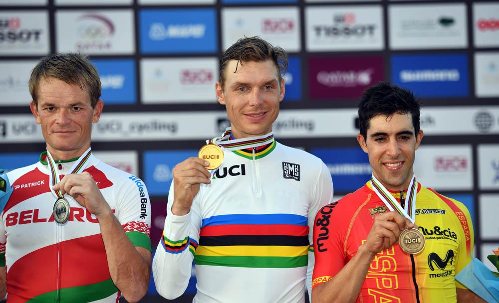 Martin, arcoíris por cuarta vez; Castroviejo, bronce