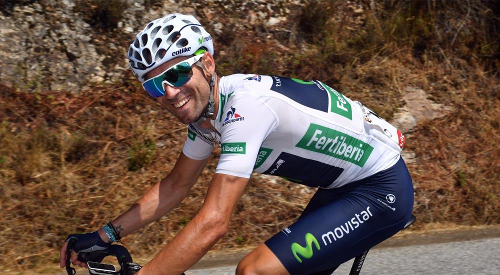 Valverde amplia su contrato dos años más con Movistar Team