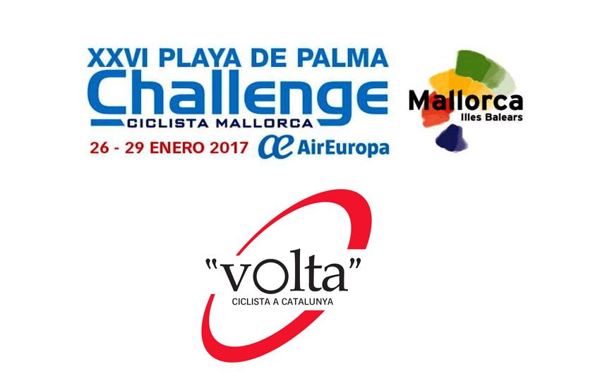 Novedades en la Volta a Catalunya y la Challenge de Mallorca