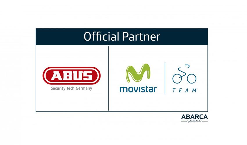 Movistar Team usará cascos Abus en 2017