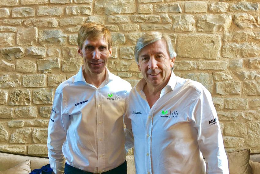Pablo Lastras regresa a Movistar Team como parte del staff técnico
