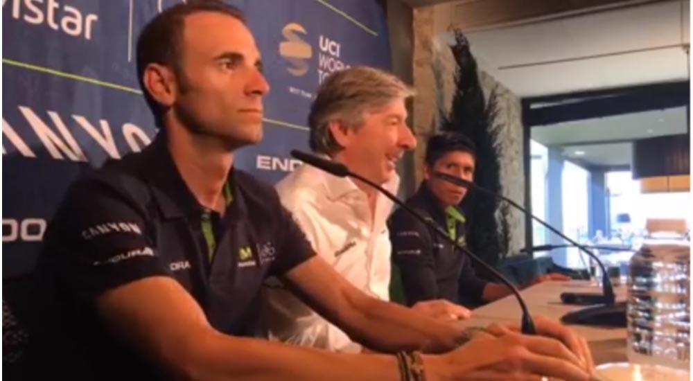 Quintana apuesta por el Tour sin descartar el Giro; Valverde hará Tour y Vuelta