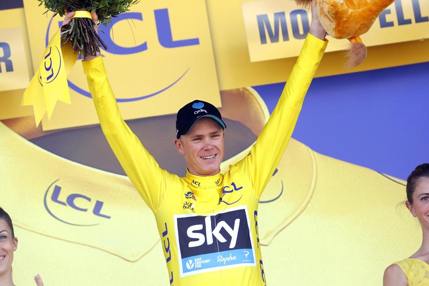 """Froome: """"Es improbable que corra el Giro, pero no lo descarto del todo"""""""