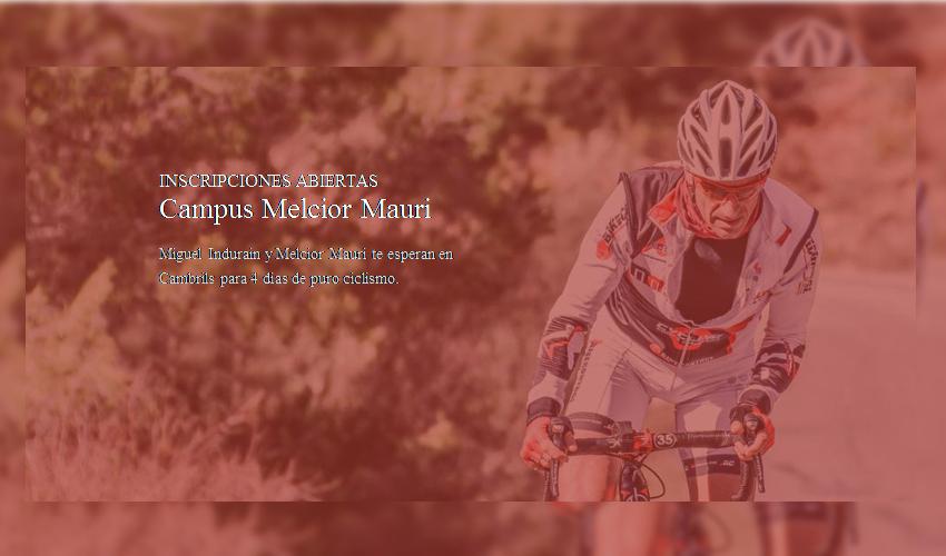 Campus de Ciclismo Melcior Mauri