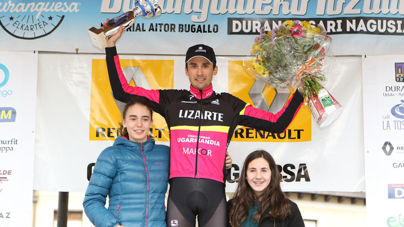Óscar Rodríguez pasará a profesionales con el Euskadi-Murias