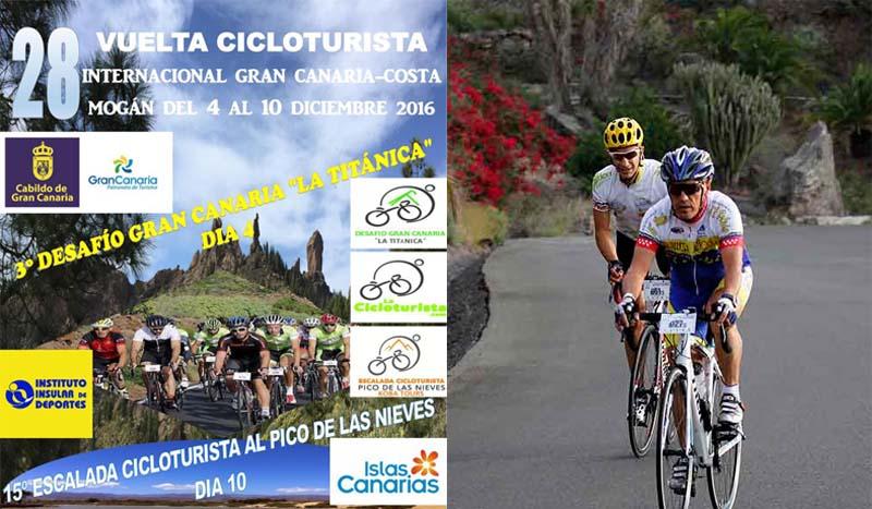 XXVIII Vuelta Cicloturista Gran Canaria Costa Mogán