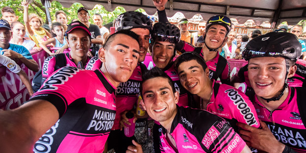 El Team Manzana Postobón será Continental Profesional para el 2017