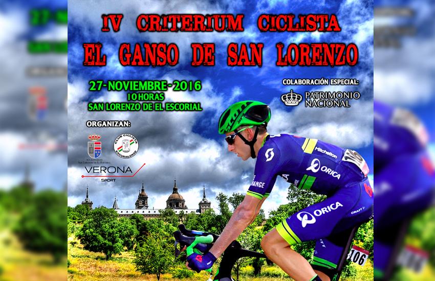 Vuelve el Ganso de San Lorenzo con los mejores ciclistas profesionales
