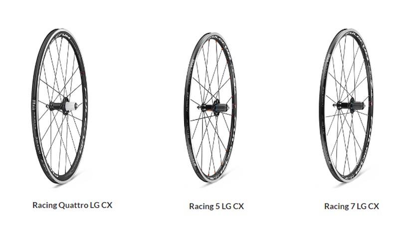 Catálogo de ruedas Fulcrum Ciclocross 2017