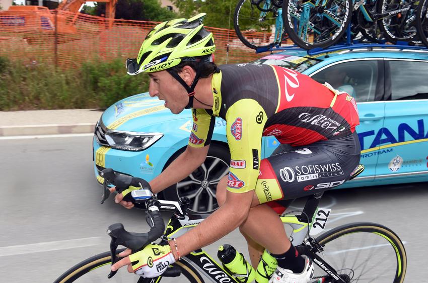 """Julen Amézqueta: """"Verme escapado en la tercera semana del Giro fue algo único"""""""