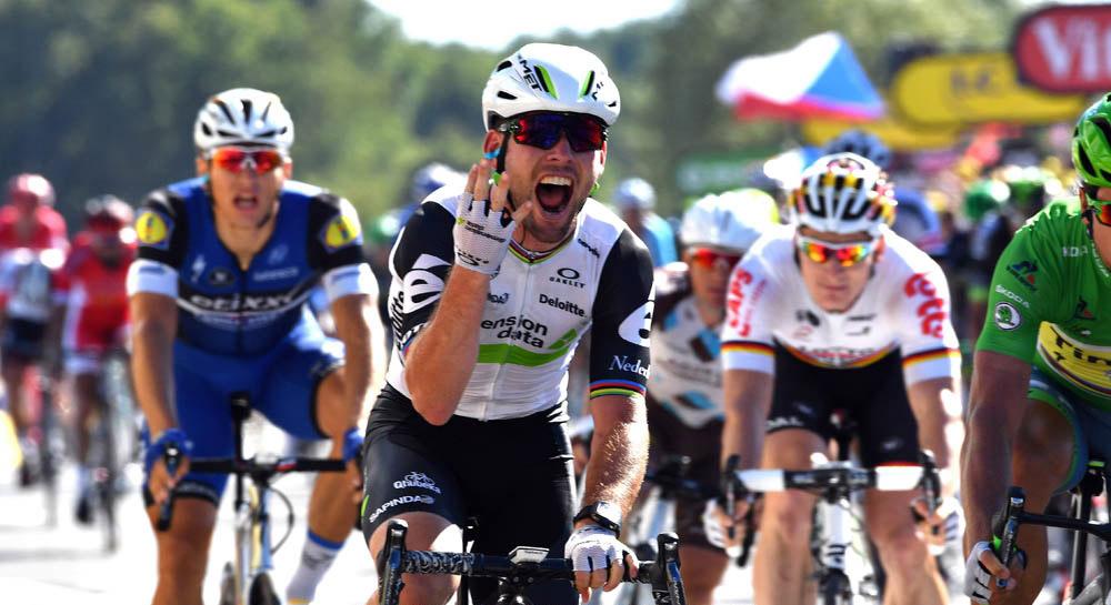 Los 25 momentos de Mark Cavendish en 2016
