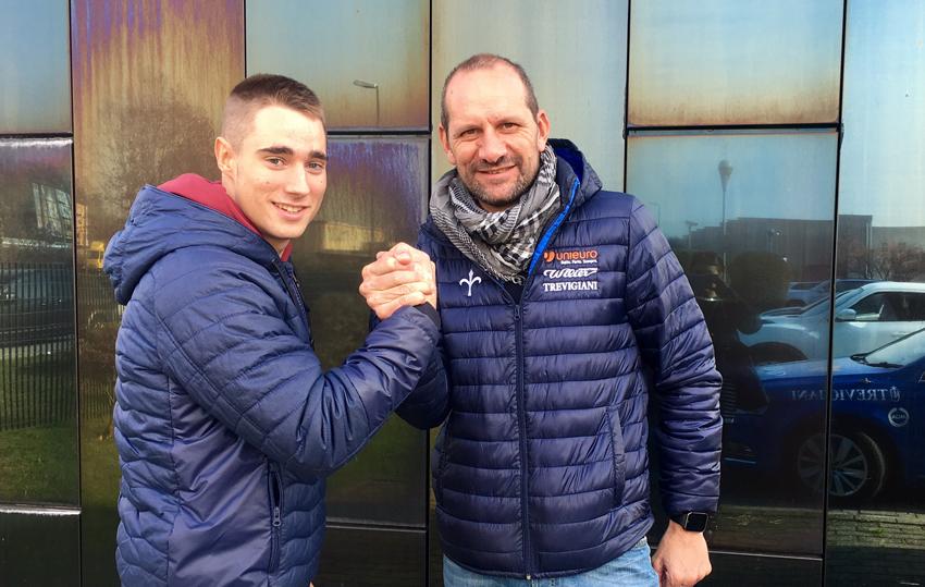 Daniel Viejo, a sus 18 años, ficha por el Uniero continental italiano