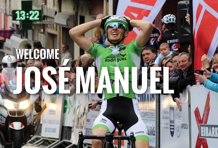 José Manuel Díaz Gallego ficha por el Cycling Academy